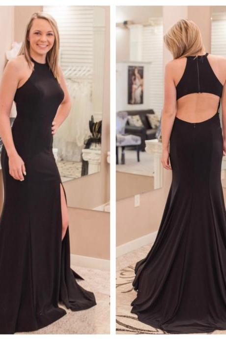 Simply Gorgeous Black Mermaid Long Formal Evening Dress